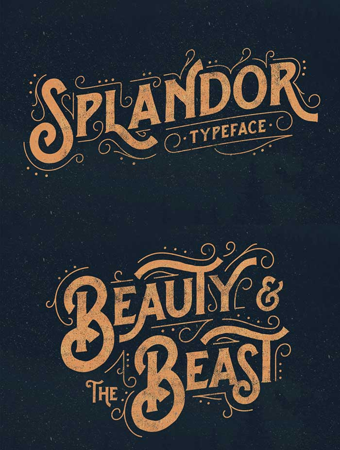 Splandor: part of the 30 fonts for $39 bundle!