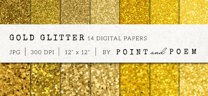 Tutorial: How to add a golf leaf or glitter texture to your blog graphics. Add it to text, shapes, icons or patterns! Super easy!! Plus download my free gold foil and gold glitter social media icon sets! Gold Glitter Texture by Point and Poem. Check it out on www.designyourownblog.com!