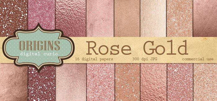 How To Add a Gold Leaf or Glitter Texture to Your Blog