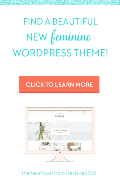 Shop all feminine WordPress themes here!