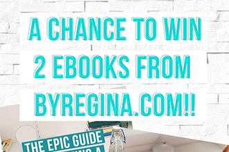 Win 2 eBooks from byRegina.com!! Enter today during the week-long DYOB relaunch/giveaway party!