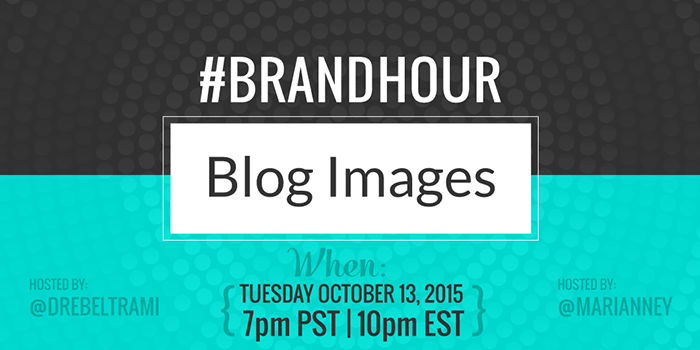 Join @drebeltrami and @marianney on Tuesday nights once a month for #brandhour Twitter chat at 7pm PT/10pm ET!