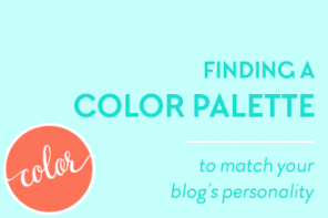 Finding a Color Palette to Match Your Blog's Personality. Color is easily the most identifiable factor in people's minds when they first jump onto any website. So it makes sense to use it to emphasise your blog's personality, and attract your right readers. Read more on www.DesignYourOwnBlog.com #colorpalette #blogcolorpalette #blogcolor #color