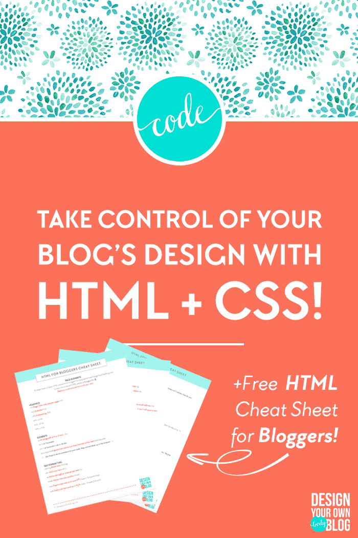 A Blogger's Guide to HTML and CSS Design