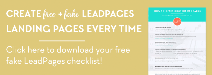 Fascination About Leadpages Convertkit