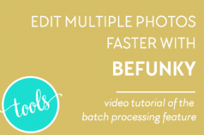 Edit Multiple Photos Faster with BeFunky!