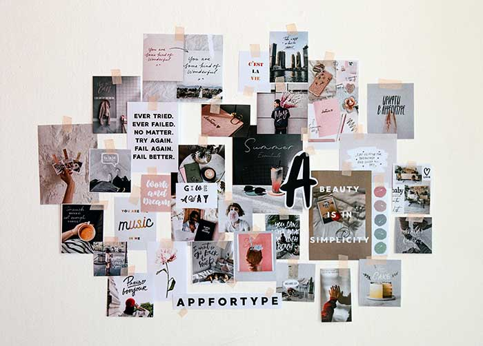 How to create a mood board to design your blog brand