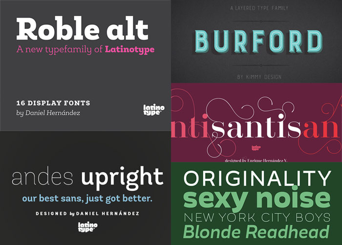 22 Best Selling Gorgeous Fonts (With Web Fonts and Extended Licensing) Just $29 - sans-serif, tradiational, corporate, display fonts