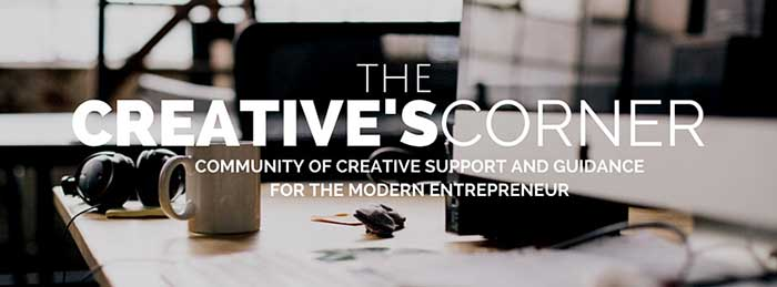The Creative's Corner private Facebook group led by brand and web designer, Julie Harris!
