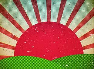 Scratched Cardboard Sun from Bigstock Photo