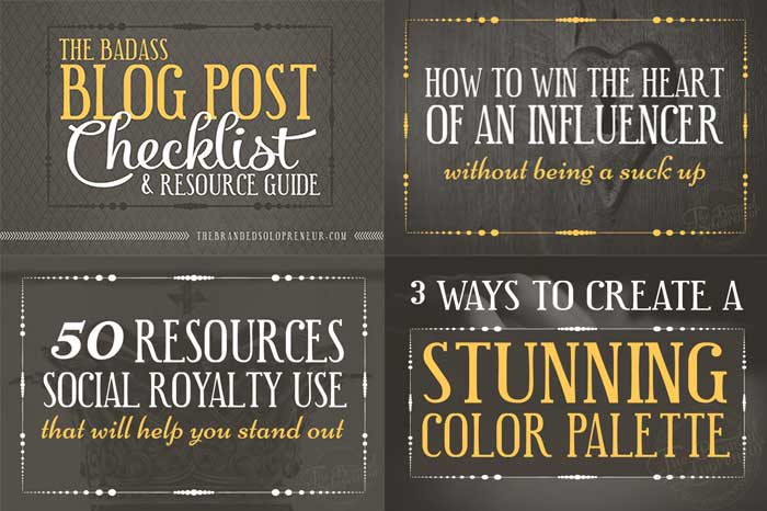 Use catchy headlines in your blog post title images for Pinterest. From 10 Sure Fire Ways to Create Attention-Grabbing Images for Pinterest to Increase Traffic on DesignYourOwnBlog.com