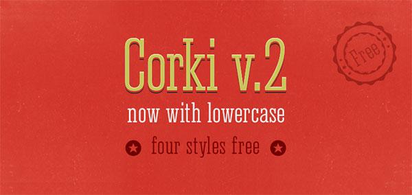 Corki v.2 free slab serif font