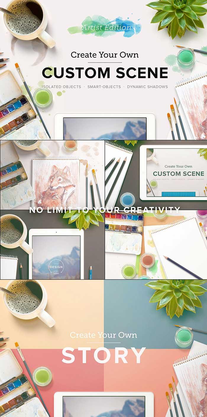 Custom Scene – Artist Ed. – Vol. 1 by Roman Jusdado