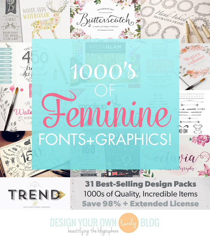 31 Best-Selling Design Packs, 1000s of Resources: This is the Essential Designer's Arsenal!