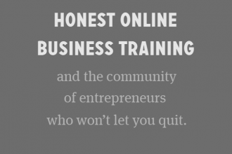 Fizzle - honest online business training and the community of entrepreneurs who won't let you quit.