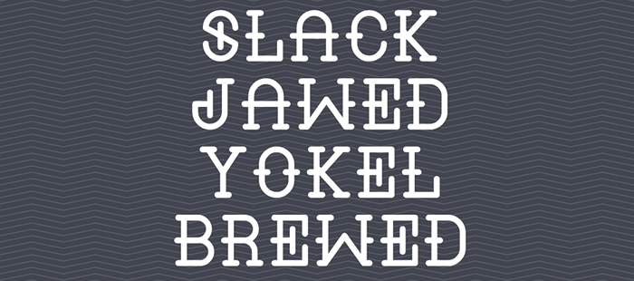 Liquor free geometric font. See more fonts like this at www.designyourownblog.com