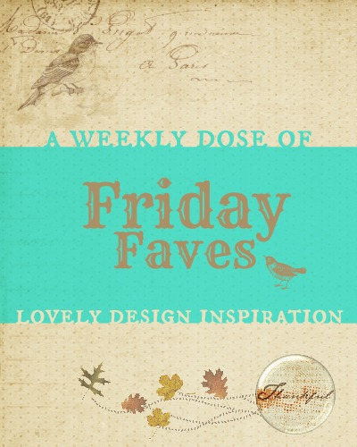 Friday Faves #15: Your Weekly Dose of Blog Design Inspiration from http://www.DesignYourOwnBlog.com