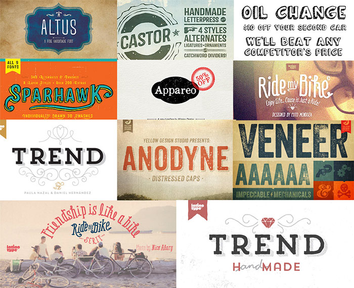 I love these fonts so much! Huge Creative Font Bundle (Including Web Fonts) Just $28