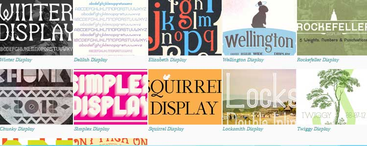 Free Font Resource for Bloggers! from Friday Faves #6 on www.DesignYourOwnBlog.com