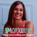 Marianne Manthey of Design Your Own (lovely) Blog