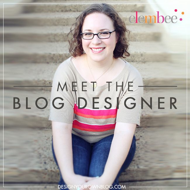 Meet the Blog Designer, Lisa Butler of Elembee