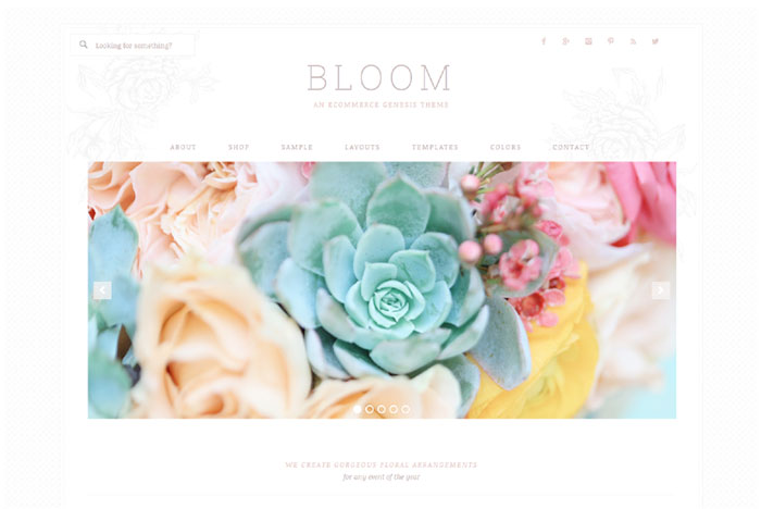 Bloom WordPress Theme by Restored 316 Designs