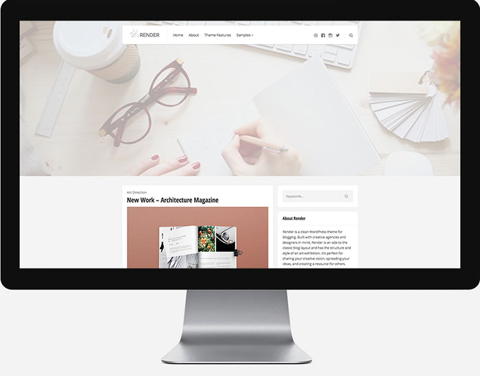 Render WordPress Theme by Themezilla