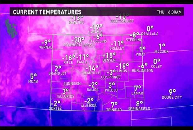 Colorado winter weather